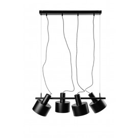 ENKEL 4 black ceiling pendant lamp