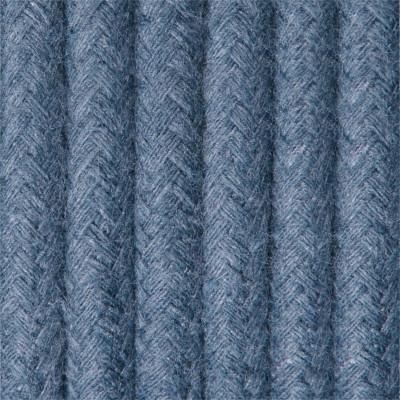 Kabel w oplocie bawełnianym B11 szafirowe niebo dwużyłowy 2x0.75