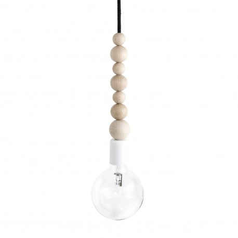 Loft Sfarer biały lampa wisząca