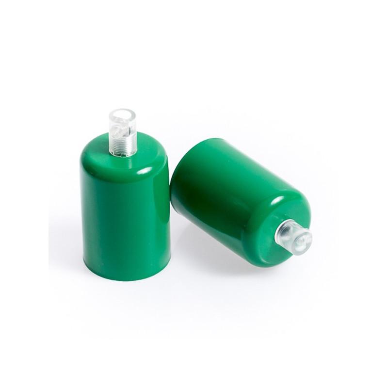 Metalowa osłonka sufitowa lakierowana w kolorze zielonym