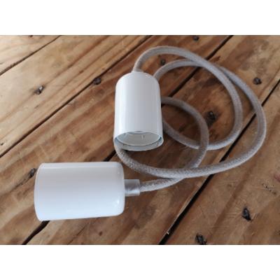 Loft metal line - 16 biały bez