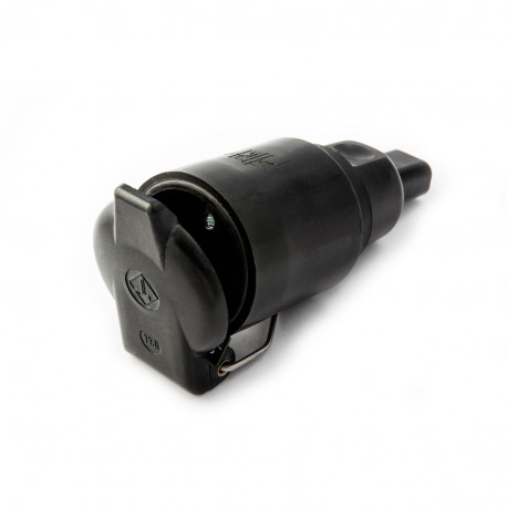 Socket 230V 16A  IP44 for flat cable - connector