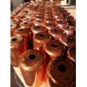 Lamp holder copper finish E27