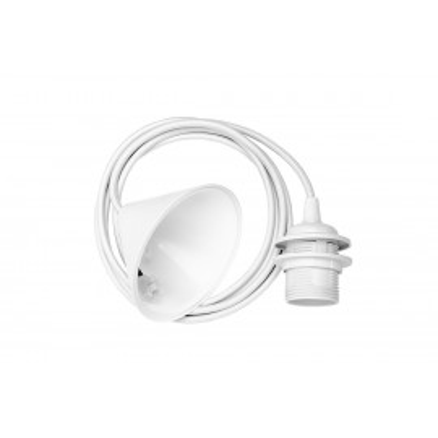 Zawieszenie do lamp biały oplot 2.1 m E27 UMAGE (VITA Copenhagen) Cord Set Biały
