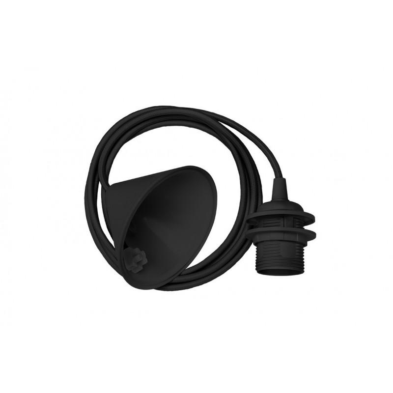 Pendant for lampshade black CORD SET 2.1 m E27 UMAGE (VITA Copenhagen)