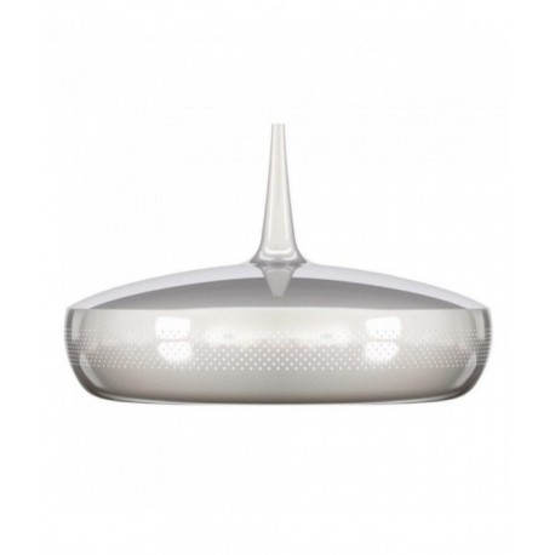 Lampa Clava Dine Steel V2 UMAGE (VITA Copenhagen) - chrom, białe wnętrze