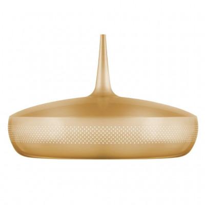Lampa Clava Dine Brass V2 UMAGE (dawniej VITA Copenhagen) - mosiądz, białe wnętrze