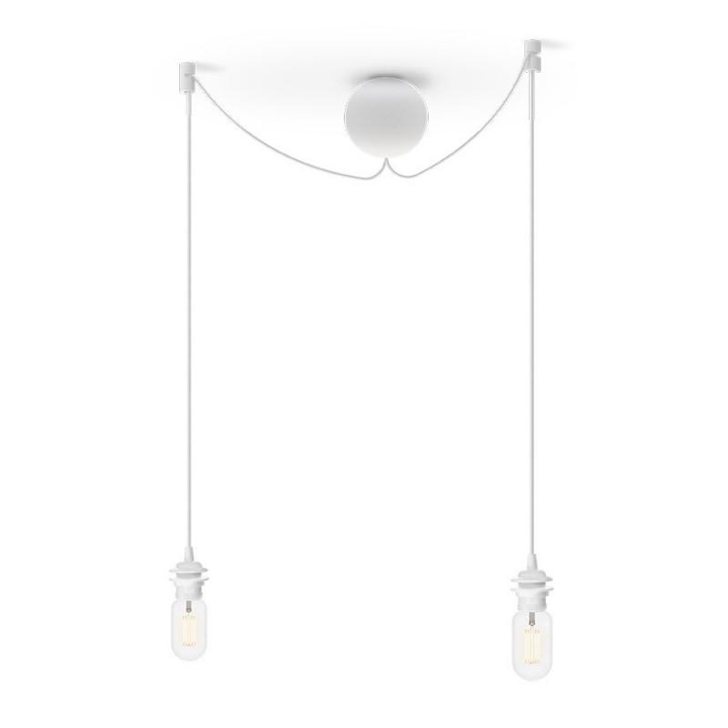 Podwójne zawieszenie do lamp Cannonball Cluster 2 UMAGE (VITA Copenhagen) - białe