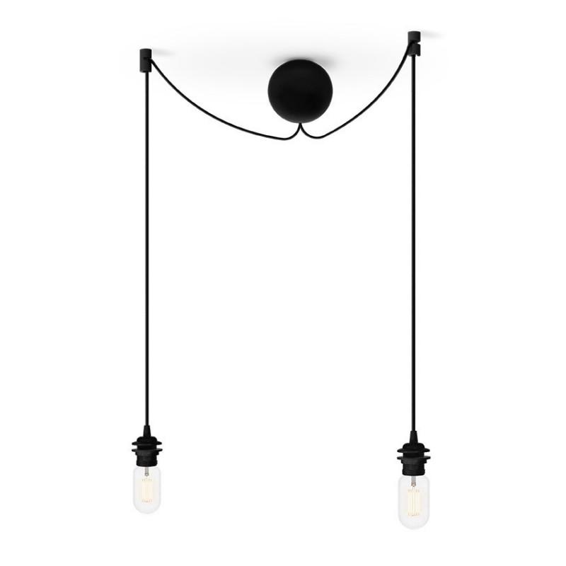Podwójne zawieszenie do lamp Cannonball Cluster 2 UMAGE (VITA Copenhagen) - czarne