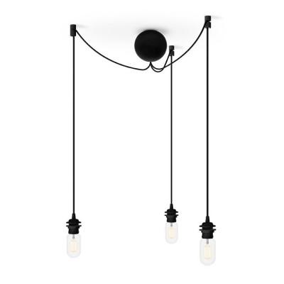 Potrójne zawieszenie do lamp Cannonball Cluster 3 UMAGE (VITA Copenhagen) - czarne