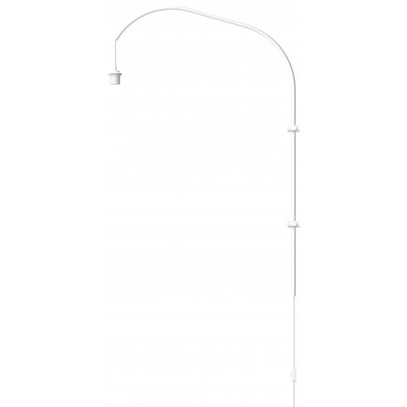 Pojedyncze ramię do lampy ściennej Willow single UMAGE (VITA Copenhagen) - białe