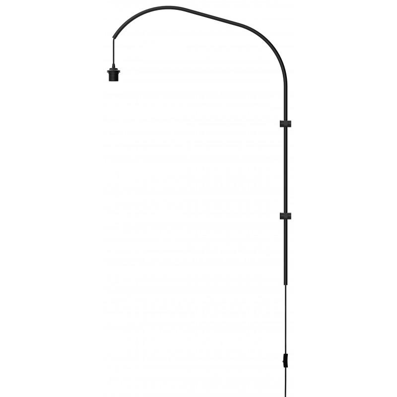 Wall lamp arm Willow single UMAGE (VITA Copenhagen) - black