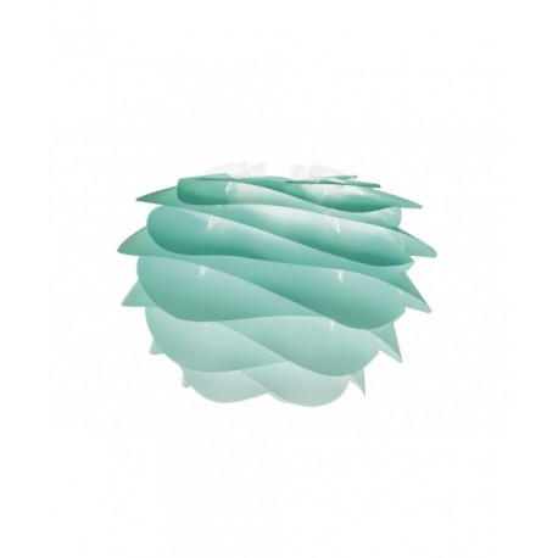 Lampa Carmina mini Gradient Turquoise UMAGE (VITA Copenhagen) - turkusowa