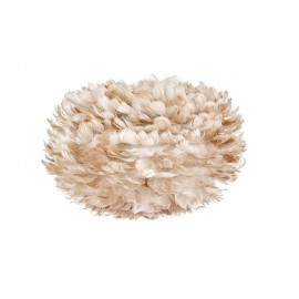White lamp with feathers Eos Medium Light Brown UMAGE (dawniej VITA Copenhagen) - light brown