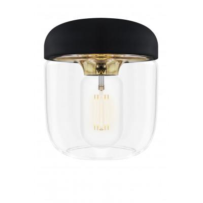 Czarna Lampa Acorn Black Brass UMAGE (VITA Copenhagen) - mosiądz