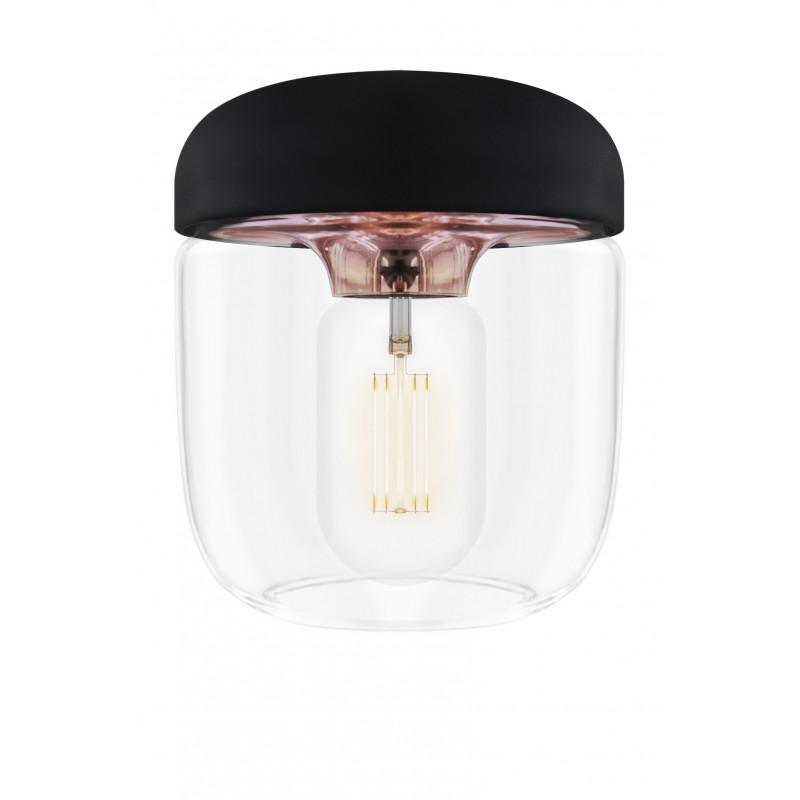 Czarna Lampa Acorn Black Copper UMAGE (VITA Copenhagen) - miedź