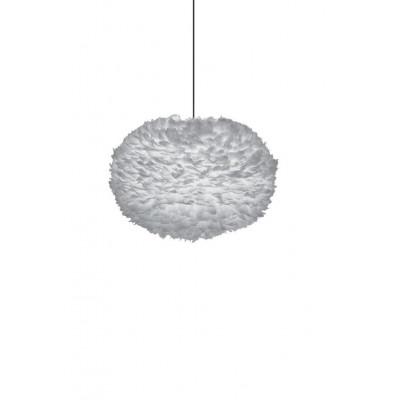 Jasnoszara lampa z piór Eos XL Light Grey UMAGE (VITA Copenhagen)