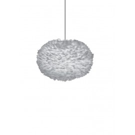 Lamp with feathers Eos XL Light Grey UMAGE (VITA Copenhagen)