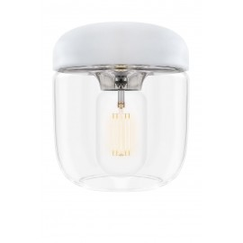 Lamp Acorn White Steel UMAGE (VITA Copenhagen) - chrome
