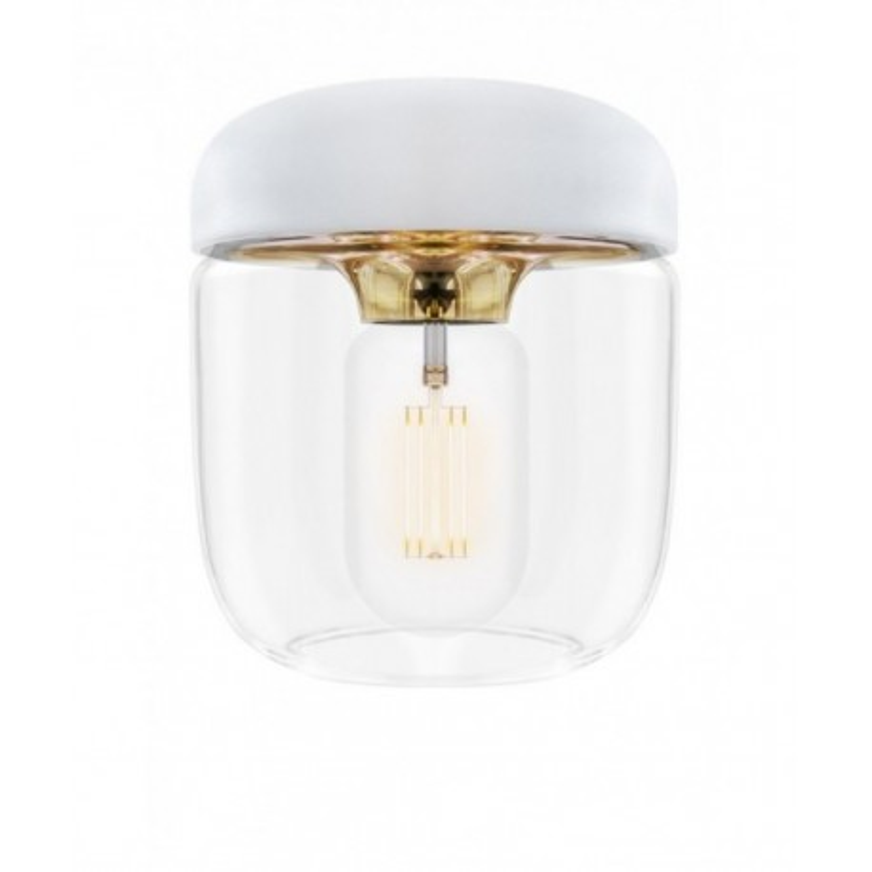 Biała Lampa Acorn White Brass UMAGE (VITA Copenhagen) - mosiądz