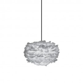 Lamp with feathers Eos mini light grey UMAGE (VITA Copenhagen)