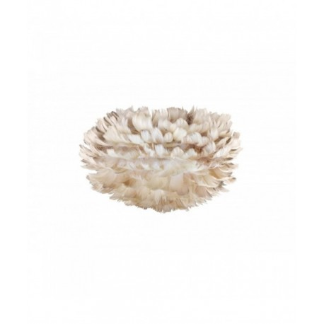 Light brown lamp with feathers Eos mini light brown UMAGE (VITA Copenhagen)