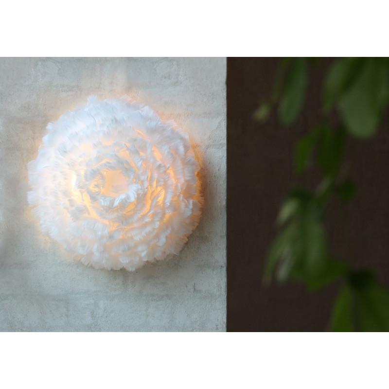 Kinkiet / lampa ścienna z piór Eos Up UMAGE (VITA Copenhagen) - biała