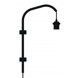 Wall lamp arm Willow mini UMAGE (VITA Copenhagen) - black