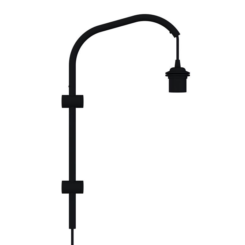 Ramię do lampy ściennej Willow mini UMAGE (VITA Copenhagen) - czarne