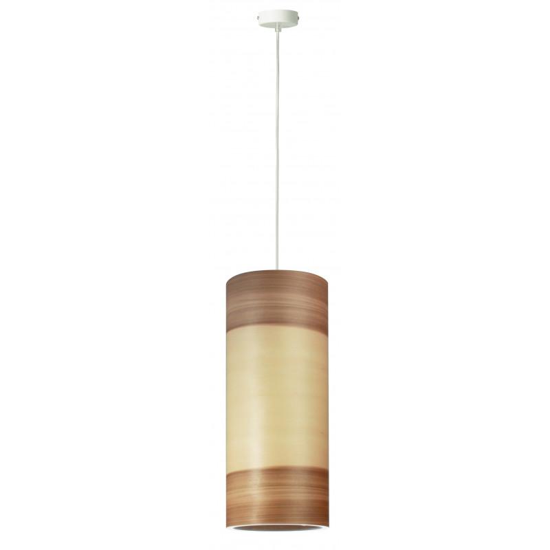 Lampa wisząca FUNK 16/40P Dreizehngrad orzech satyna - średnica 16 cm