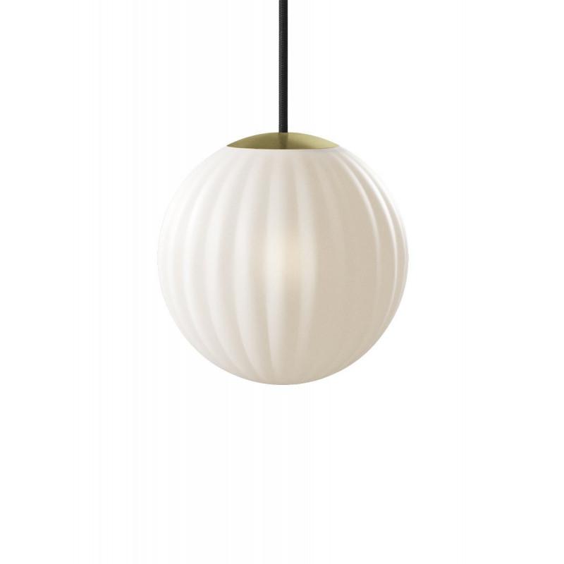 Bright Modeco Brass Nordic Tales Lamp - black cord