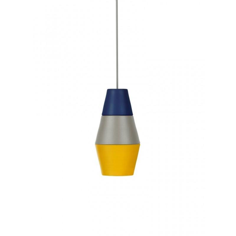 Lampa NIGHTY NIGHT kolekcja ILI ILI Grupa Products - niebiesko-szaro-żółta
