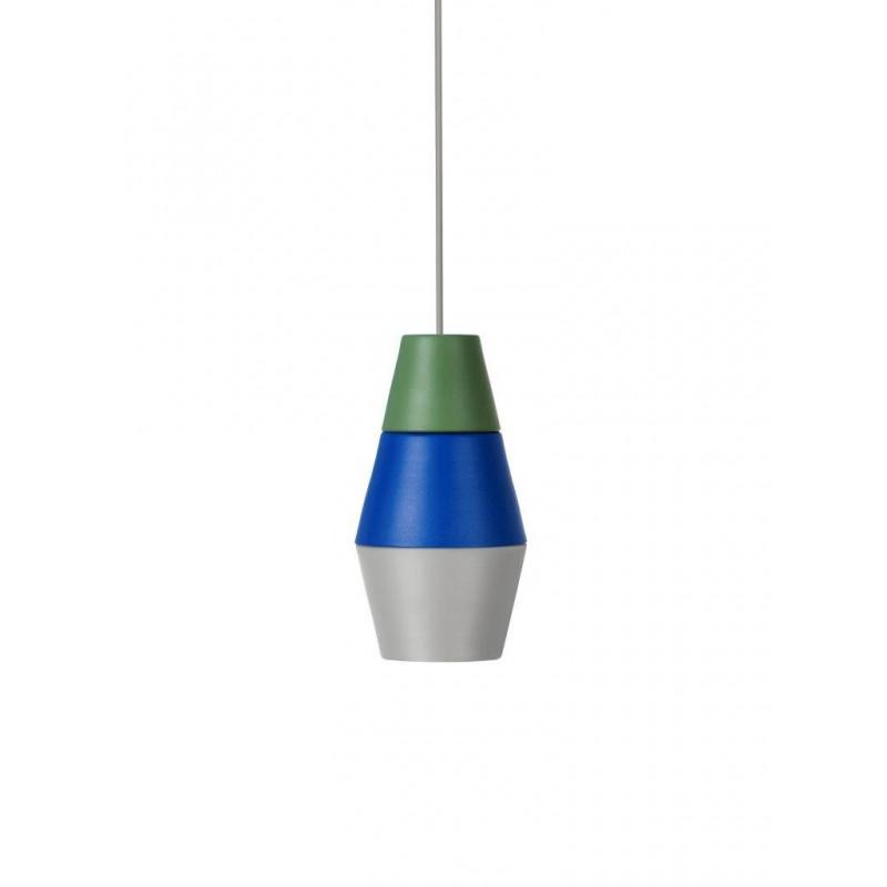 Lampa NIGHTY NIGHT kolekcja ILI ILI Grupa Products - zielono-niebiesko-szara