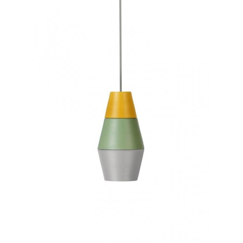 Lampa NIGHTY NIGHT kolekcja ILI ILI Grupa Products - żółto-zielono-szara