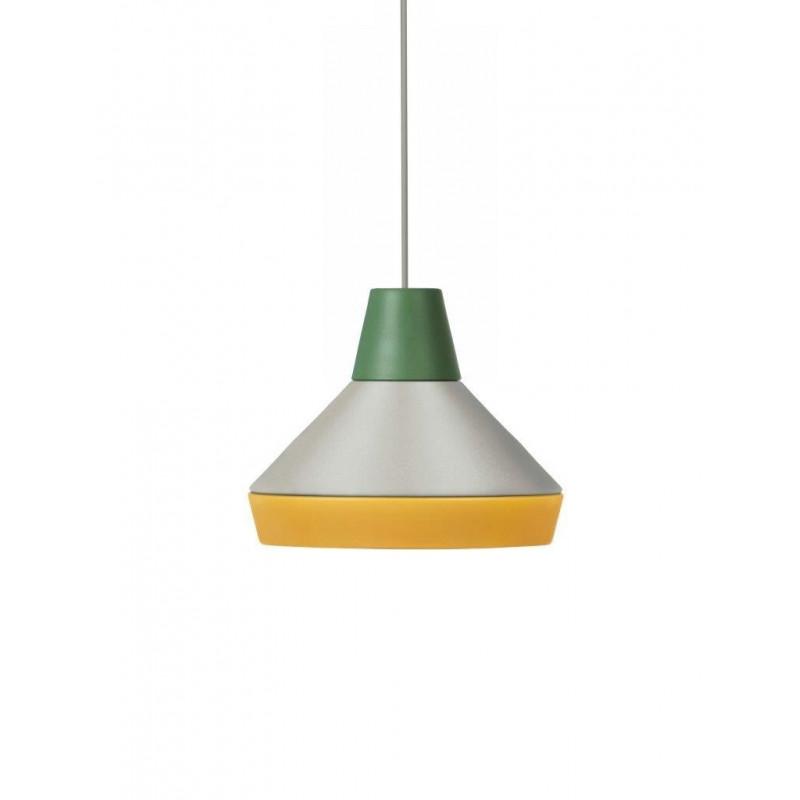 Lamp CAT'S HAT collection ILI ILI Grupa Products - green / grey / yellow