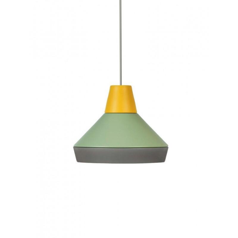 Lamp CAT'S HAT collection ILI ILI Grupa Products - yellow / green / grey