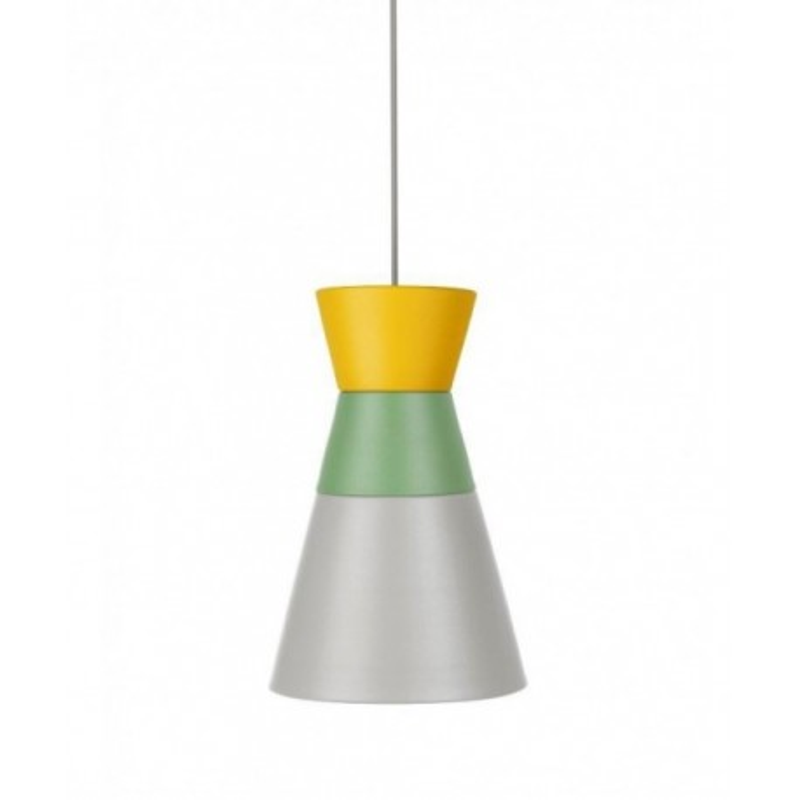 Lampa DANCE ALL NIGHT kolekcja ILI ILI Grupa Products - żółto-zielono-szara