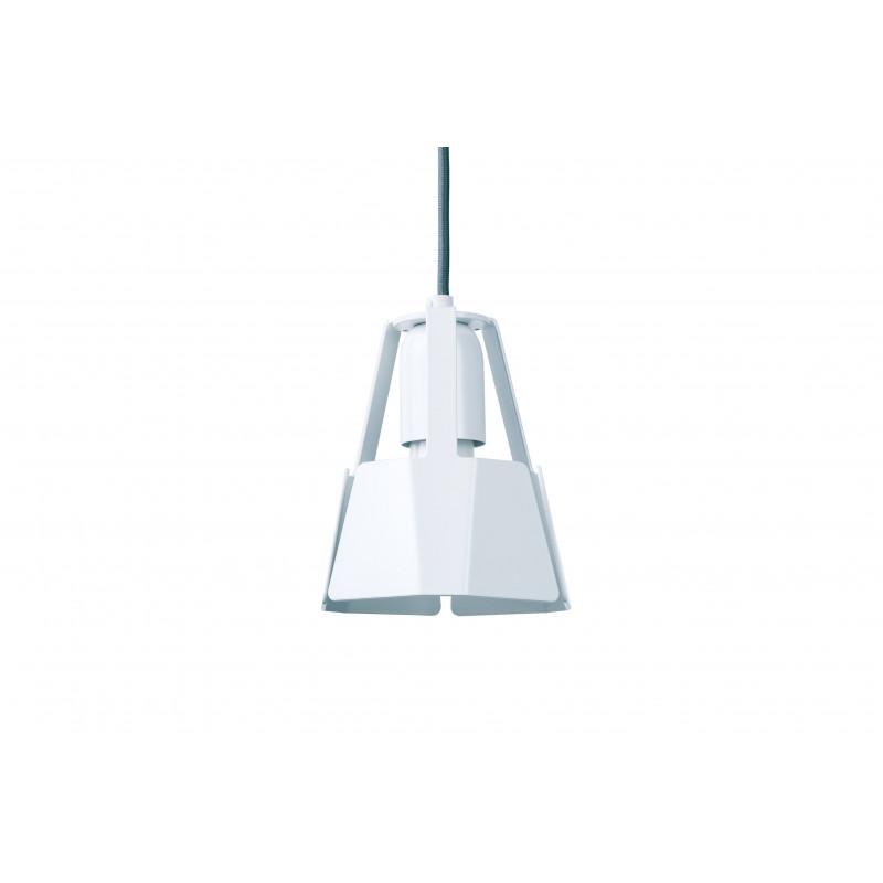 Lampa BEAT 14/15P Dreizehngrad - biała, średnica 14 cm