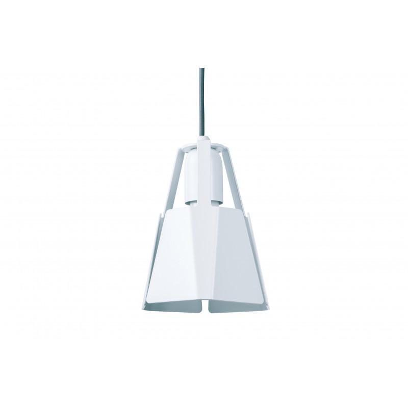 Lampa BEAT 16/19P Dreizehngrad - biała, średnica 16 cm