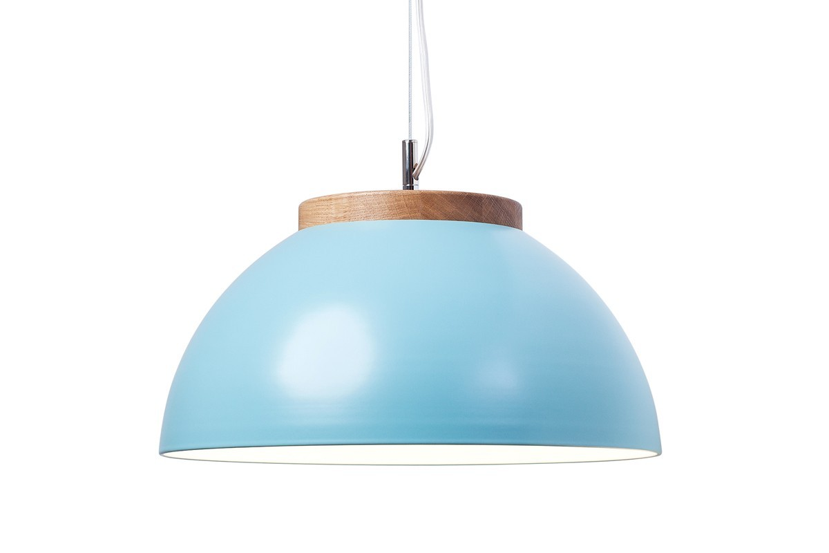 Lampa DUB 3618P Dreizehngrad turkusowa, średnica 36 cm