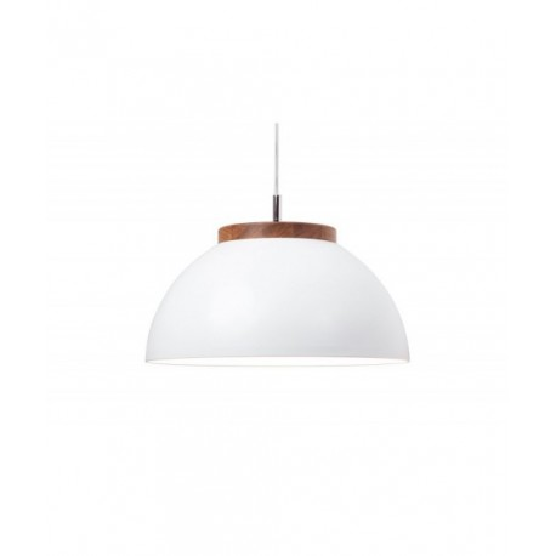 Lampa DUB 36/18P Dreizehngrad - biała, średnica 36 cm