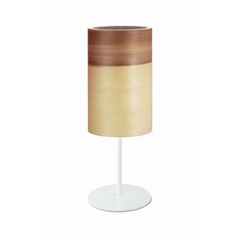 Lampa stołowa FUNK 16/26T Dreizehngrad orzech satyna - średnica 16 cm