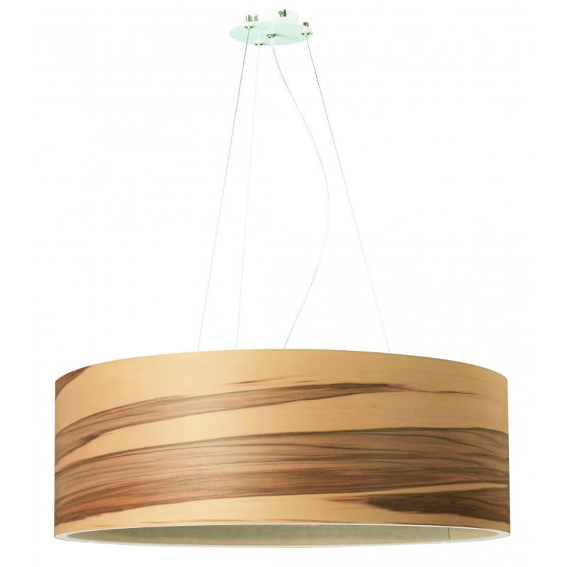 Pendant lamp FUNK 60/20P Dreizehngrad walnut satin - diameter 60 cm