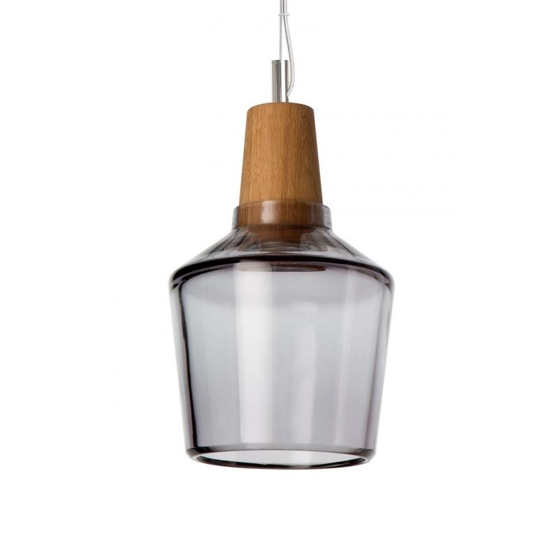 Lampa INDUSTRIAL 15/16P z antracytowego szkła Dreizehngrad - średnica 15 cm