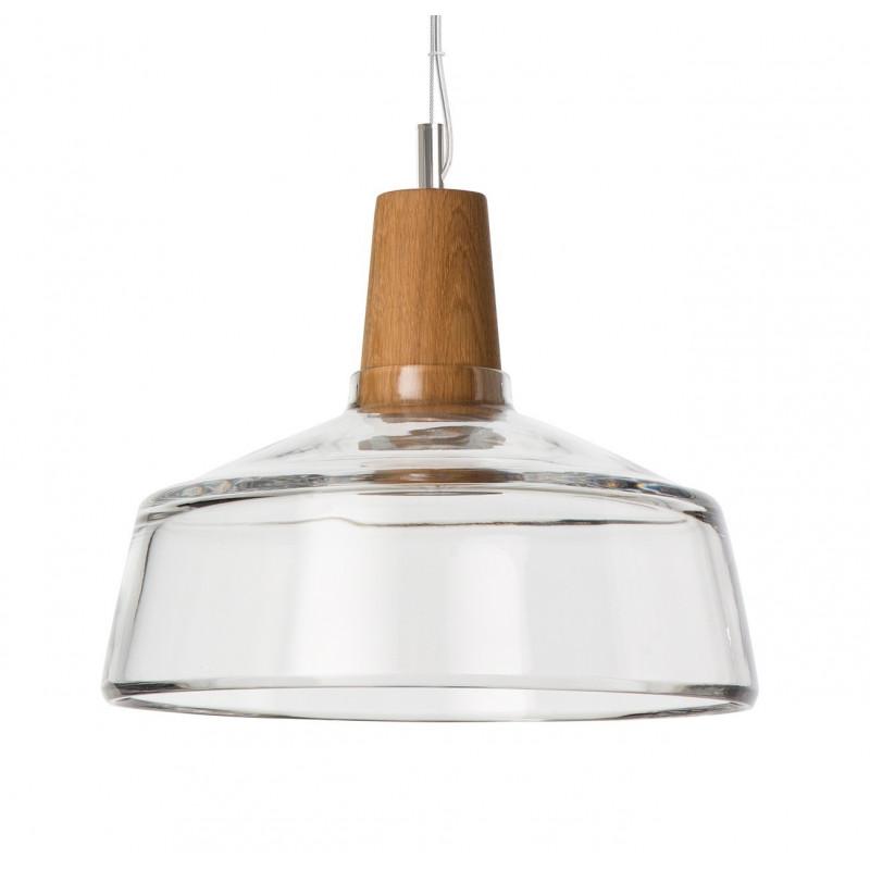 Lampa INDUSTRIAL 26/14P z bezbarwnego szkła Dreizehngrad - średnica 26 cm