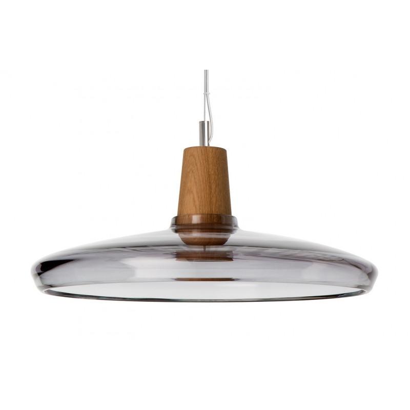 Lampa INDUSTRIAL 36/08P z antracytowego szkła Dreizehngrad - średnica 36 cm