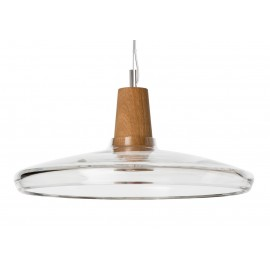 Lamp INDUSTRIAL 36/08P transparent glass Dreizehngrad - diameter 36 cm