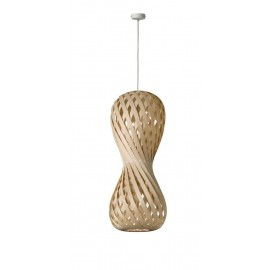 Pendant lamp SWING 30/70P Dreizehngrad maple - diameter 30 cm