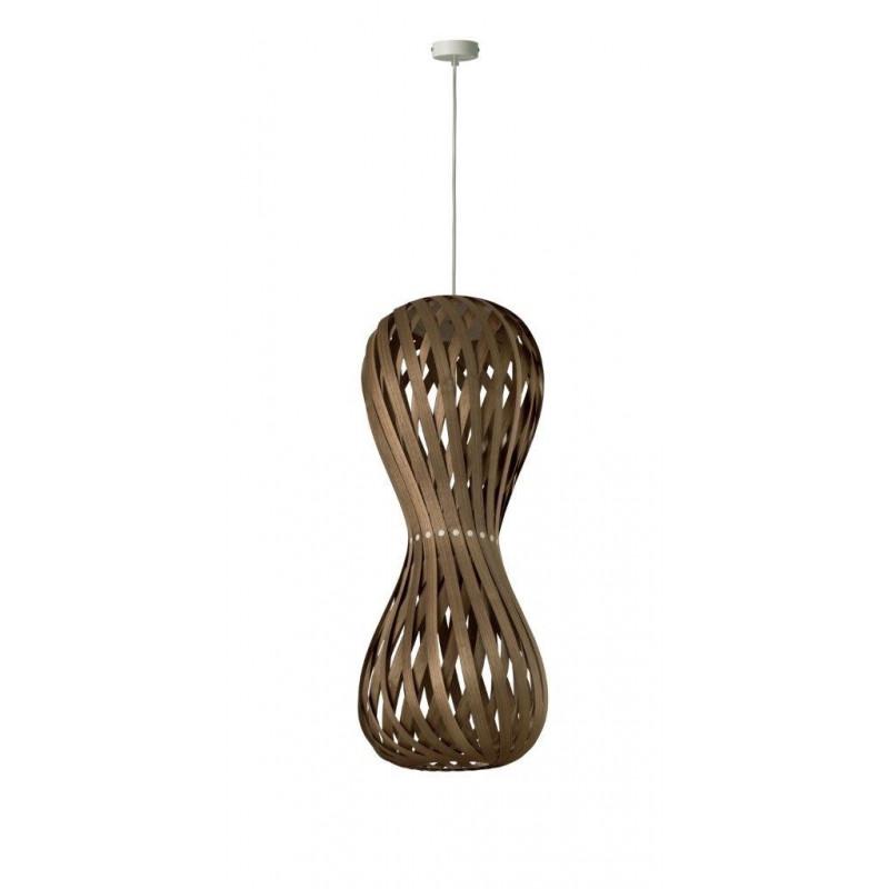 Lampa wisząca SWING 30/70P Dreizehngrad orzech - średnica 30 cm