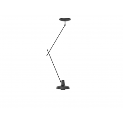 Lampa sufitowa ARIGATO CEILING LONG Grupa Products - wydłużona, czarna